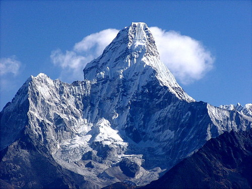Amadablam, Everest region in Nepal expedition 2008